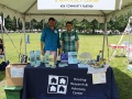 The Housing Center's booth at ADA Day.