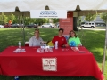 Easter Seals booth at ADA Day.
