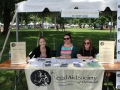Legal Aid Society booth at ADA Day.