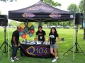 Q104 at ADA Day.