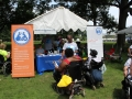 Services for Independent Living booth at ADA Day.