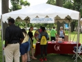 Cuyahoga County Board of Developmental Disabilities booth at ADA Day.