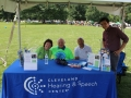 Cleveland Hearing and Speech Center booth at ADA Day.