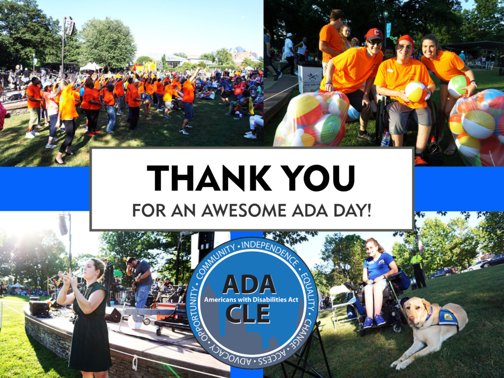 Thank you for an awesome ADA Day!